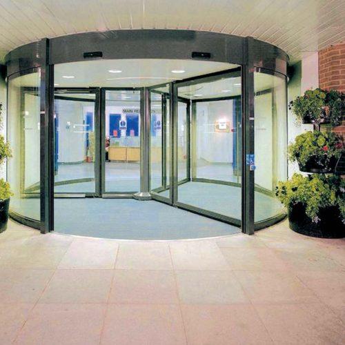 Porte Automatiche Girevoli