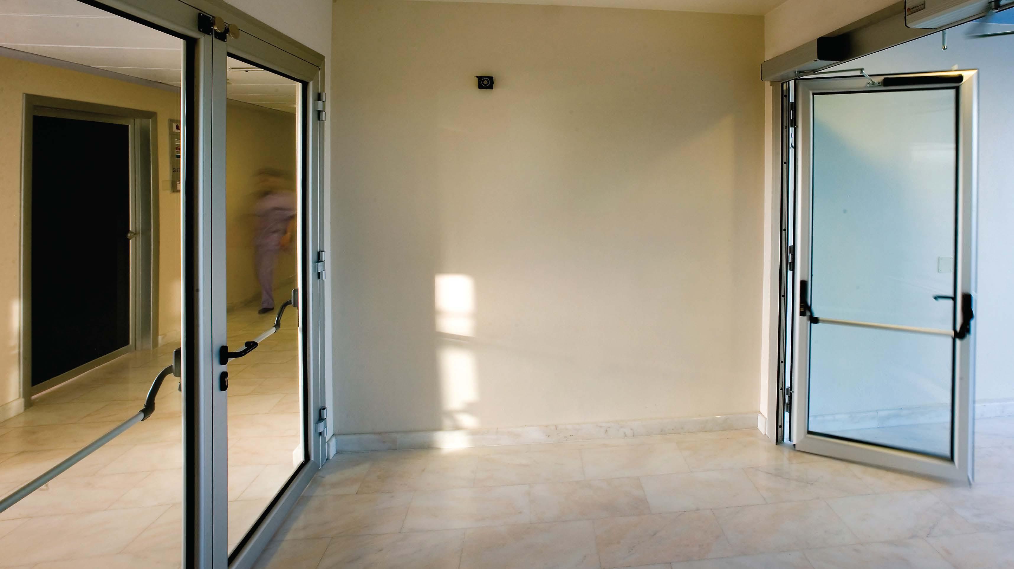 Escapedoor Porte Automatiche Tagliafuoco Roma Sarim C S L